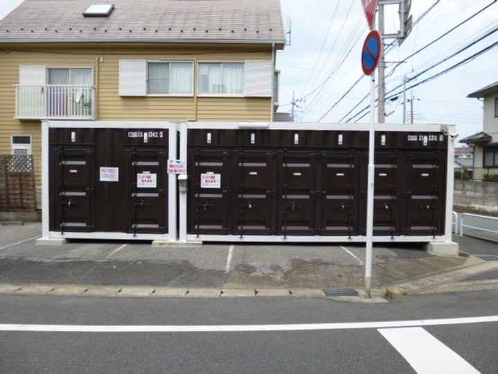 松戸岩瀬(コンテナ型トランクルーム)外観1